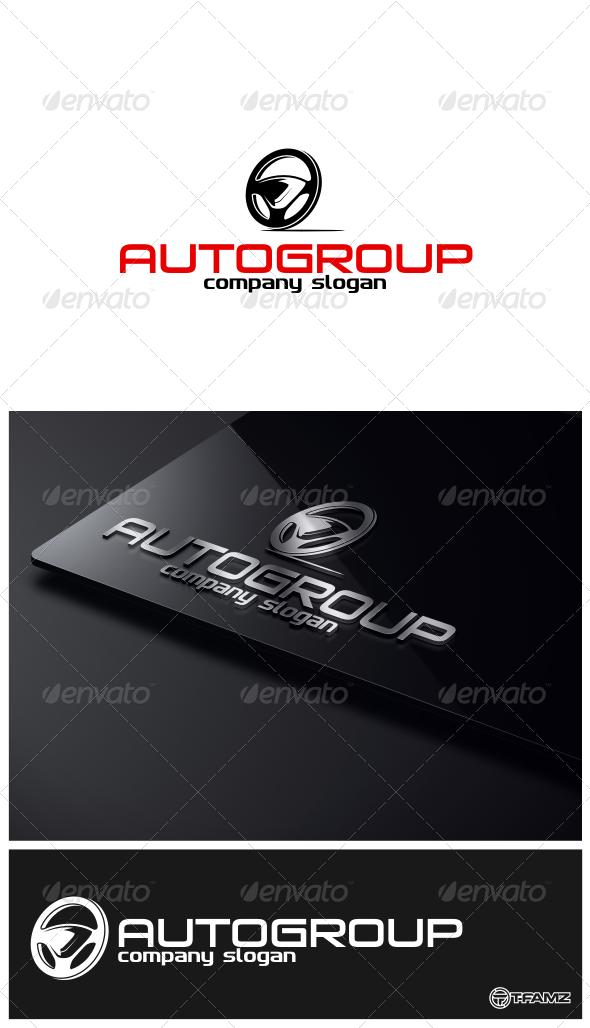 GraphicRiver Auto Group Logo Templates 4746605