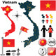 Map of Vietnam - GraphicRiver Item for Sale