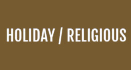 HOLIDAY / RELIGIOUS