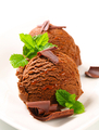 Chocolate fudge ice cream - PhotoDune Item for Sale