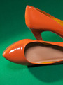 Female orange shoes - PhotoDune Item for Sale