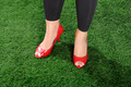 Woman Wearing Red Shoes - PhotoDune Item for Sale