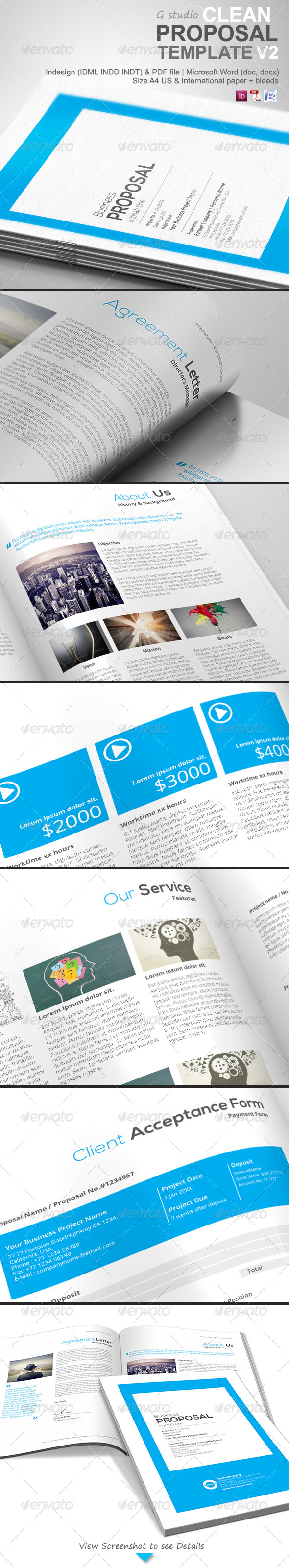 GraphicRiver Gstudio Clean Proposal Template V2 4748863
