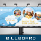 Corporate Billboard - Kid&amp;#x27;s Love - GraphicRiver Item for Sale