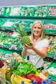 woman in the purchase of fruits and vegetables - PhotoDune Item for Sale