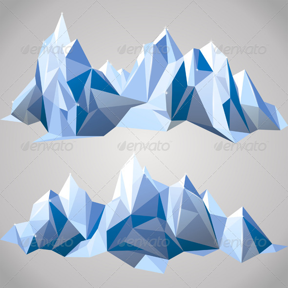 GraphicRiver Paper Mountains 4751301
