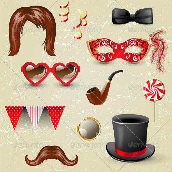 GraphicRiver Fancy Dress Elements 4751323