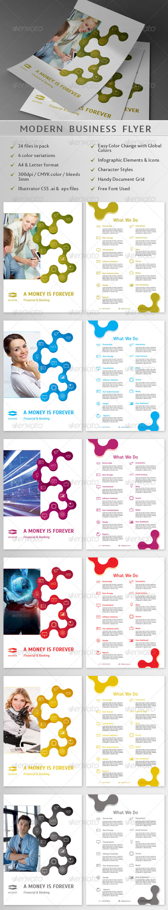 GraphicRiver Modern Business Flyer 02 4751629