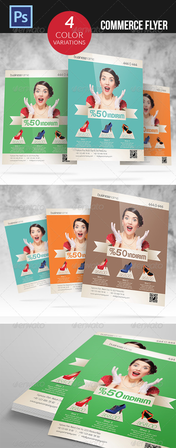 GraphicRiver Commerce Flyer 4752257