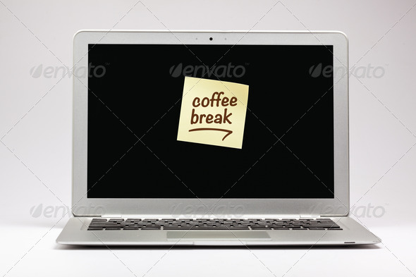 Coffee Break - Stock Photo - Images