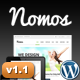 Nomos Clean Multi-Purpose Business Theme - ThemeForest Item for Sale