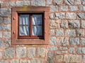 Window on wall of a stone house  - PhotoDune Item for Sale
