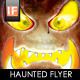 Haunted 4x6 Halloween Flyer - GraphicRiver Item for Sale