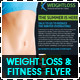 Weight Loss & Fitness Business Flyer - GraphicRiver Item for Sale