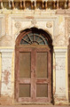 old door and ornate wall in India - PhotoDune Item for Sale
