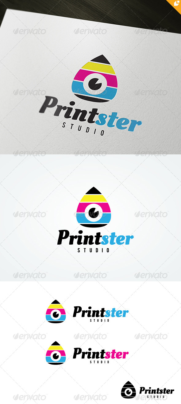 GraphicRiver Printster Logo 4756145