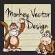 Monkey Vector Design - GraphicRiver Item for Sale