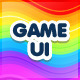 Rainbow Game Ui interface - GraphicRiver Item for Sale