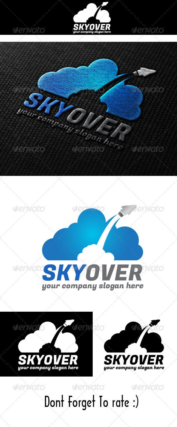 GraphicRiver Sky Over Logo 4756870