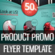 Product Promotion Flyer Template – Multipurpose - GraphicRiver Item for Sale