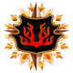 coat of arms with flame - PhotoDune Item for Sale