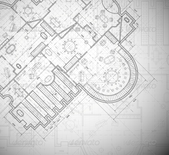 GraphicRiver Architectural Plan 4758911