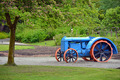 Blue and orange tractor  - PhotoDune Item for Sale