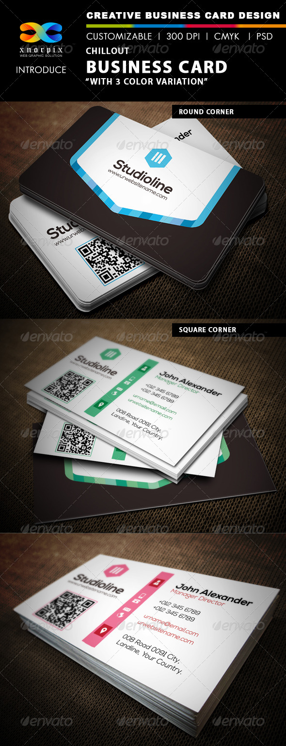 GraphicRiver Chillout Business Card 4759454