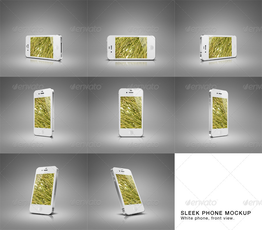Sleek Phone Mockup