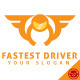 Fastest Driver Logo Template - GraphicRiver Item for Sale