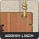 Wooden Login Form - GraphicRiver Item for Sale