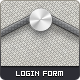 Stylish Login Form - GraphicRiver Item for Sale