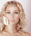 Beautiful woman with calla flower - PhotoDune Item for Sale