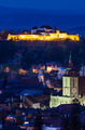 Brasov night cityscape in Romania - PhotoDune Item for Sale
