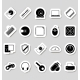 Computer Icons Stickers - GraphicRiver Item for Sale