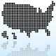 Abstract USA map - GraphicRiver Item for Sale