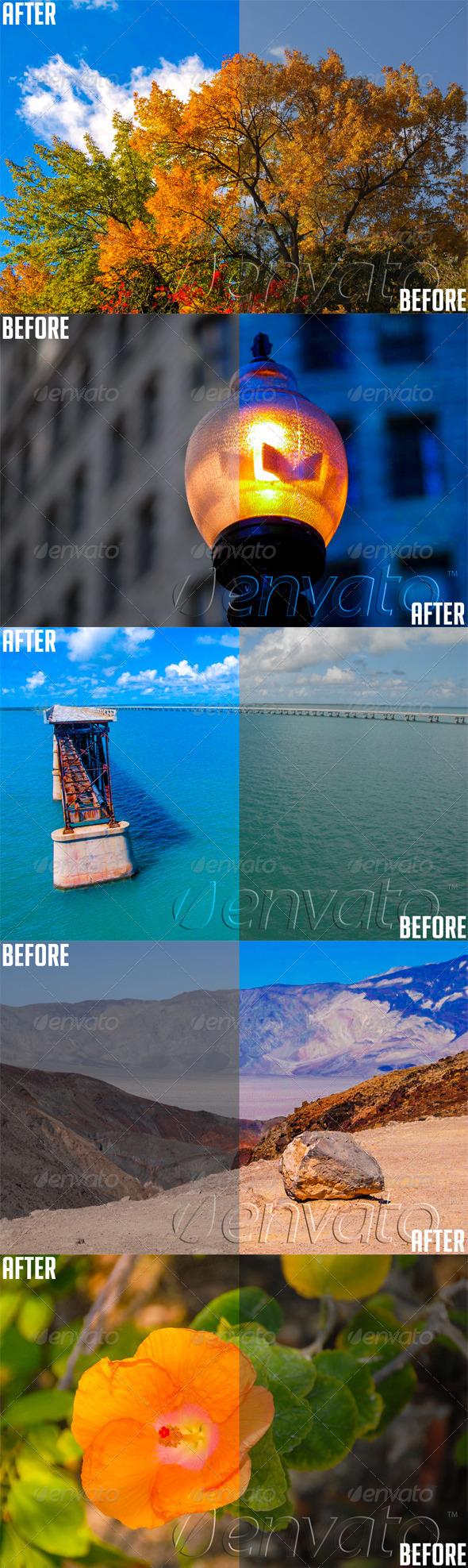 GraphicRiver Lightroom Color Enhance Preset 4738403
