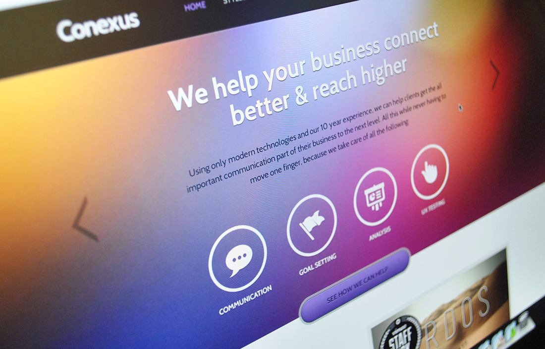 Conexus - Agency HTML Theme