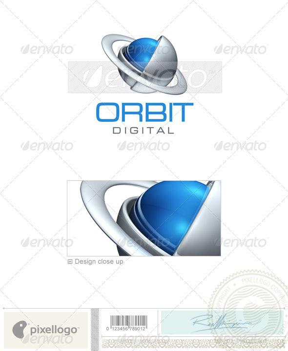 GraphicRiver Communications Logo 3D-389 496557