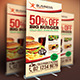 Fast Food Banner - GraphicRiver Item for Sale