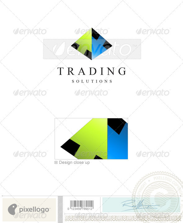 Business & Finance Logo - 1453 - Buildings Logo Templates