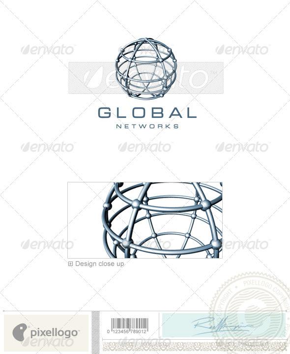 GraphicRiver Communications Logo 3D-234 496695