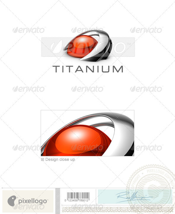 GraphicRiver Communications Logo 3D-486 496711