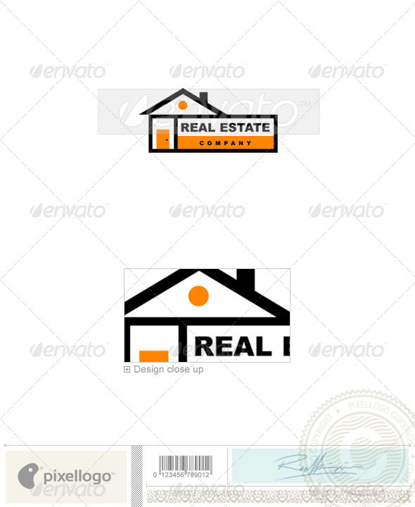 Home & Office Logo - 381 - Buildings Logo Templates