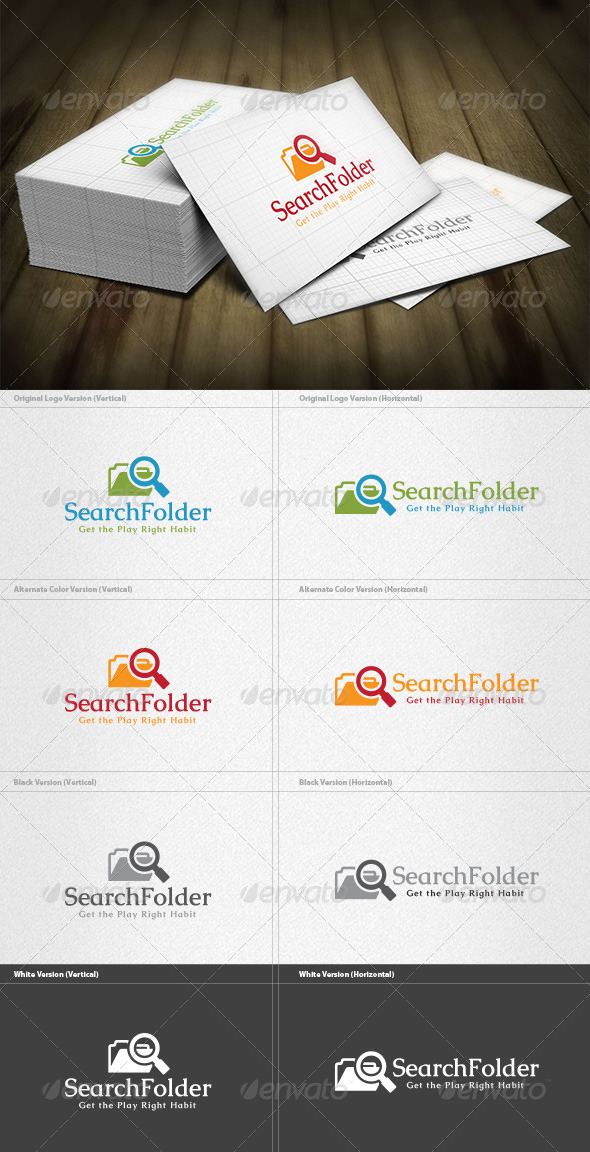 GraphicRiver Search Folder Logo 4763415