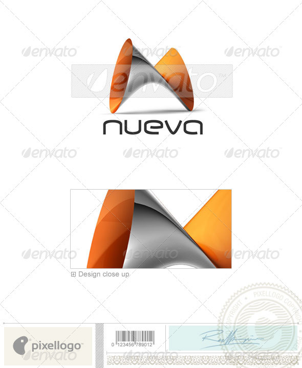 Technology 3D Logo Template Design