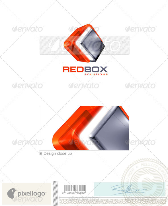 GraphicRiver Technology Logo 3D-67 496976