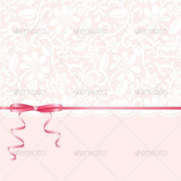 GraphicRiver Vector Template for Wedding Invitation or Greeting Card 4764139