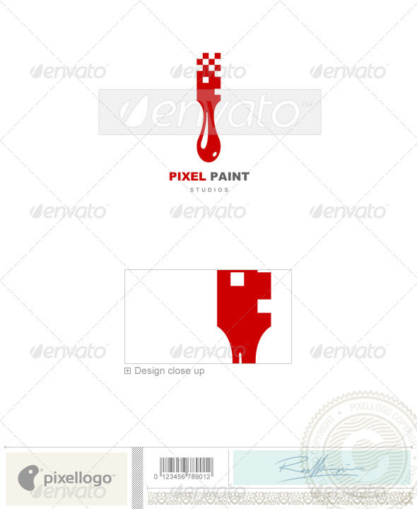Print & Design Logo - 509 - Vector Abstract