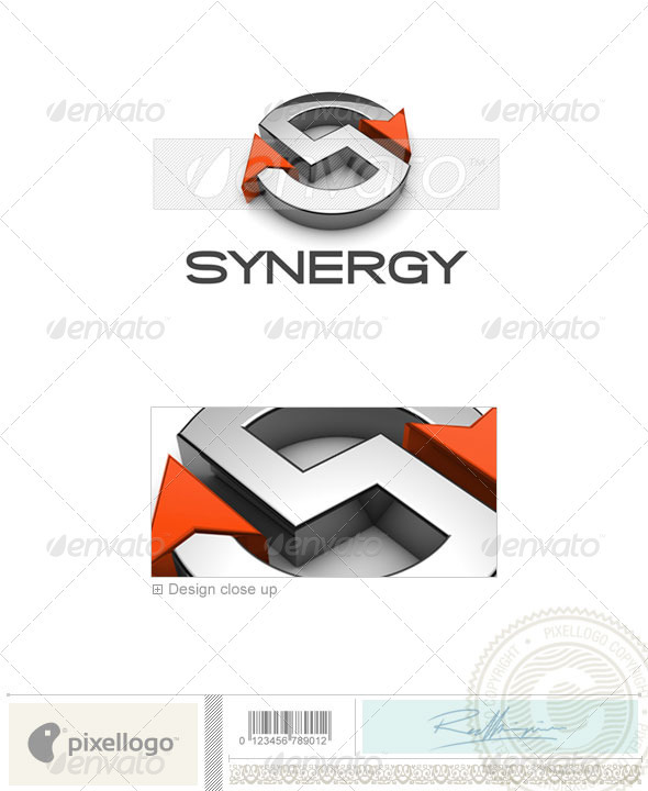 Technology Logo - 3D-676 - 3d Abstract